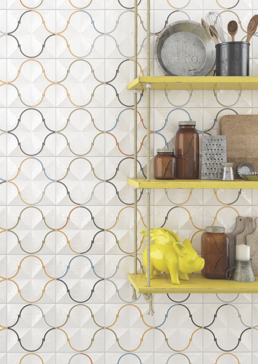 Retro Pattern Wall Tiles