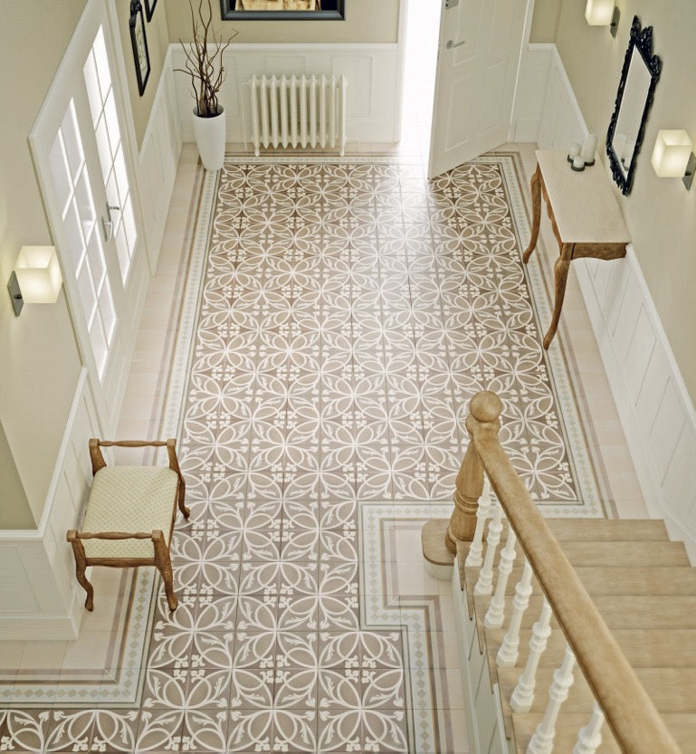 Patterned & Decorative Hallway & Floor Tiles