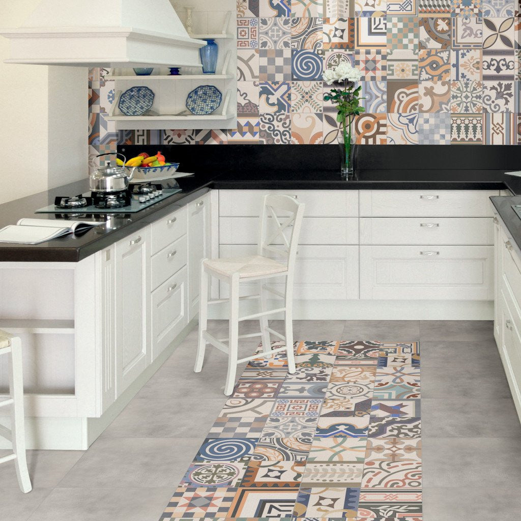 5 Examples Of Unusual Kitchen Floor Tiles