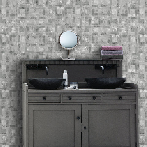 Courchevel Mosaic Grey