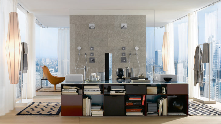 Living Bathroom - Tile Trends 2016