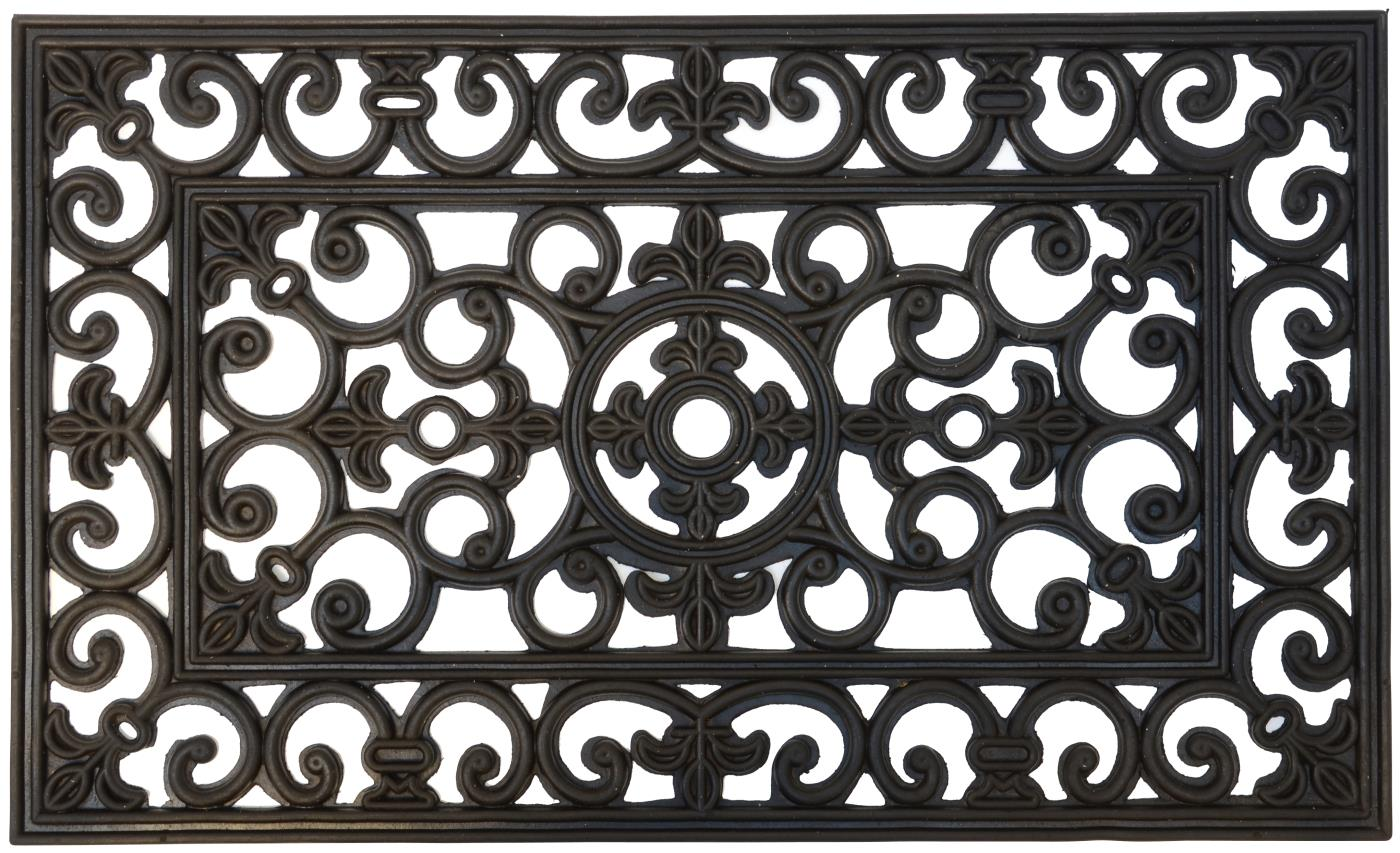 Rubber Filigree Doormat