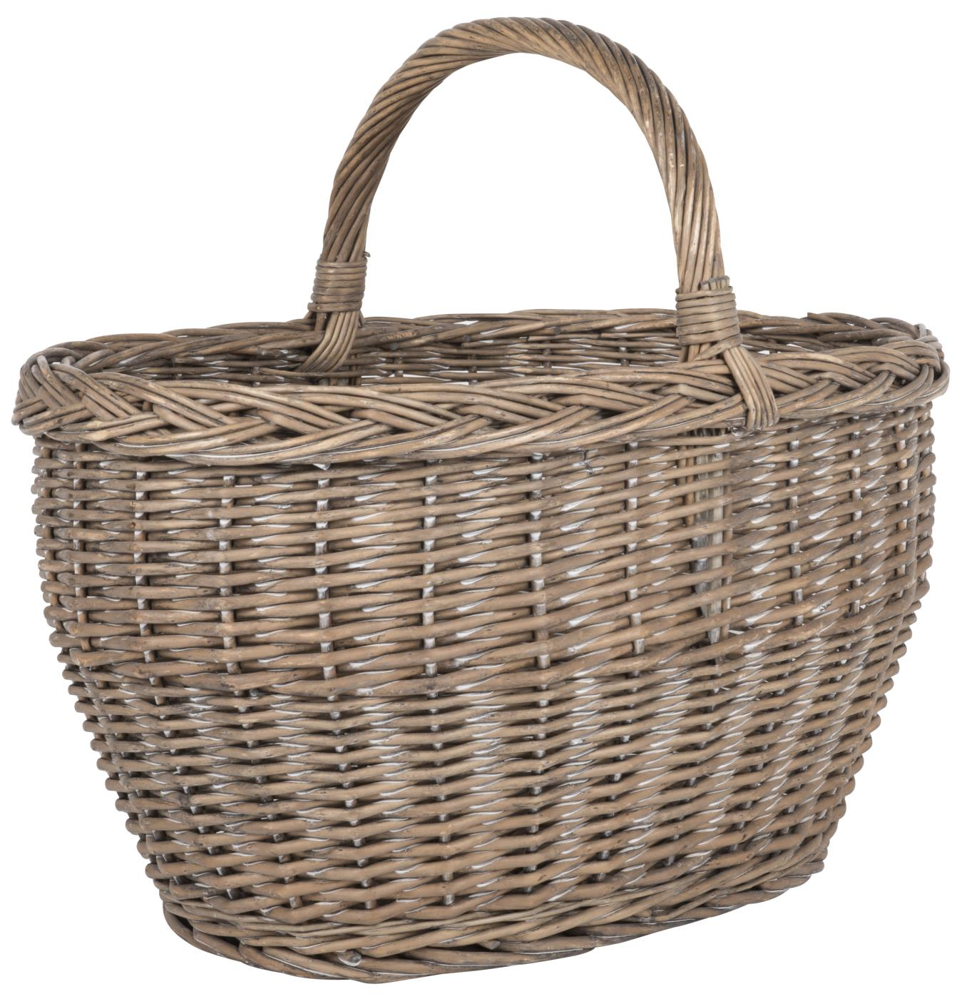 Large Willow basket with Handle