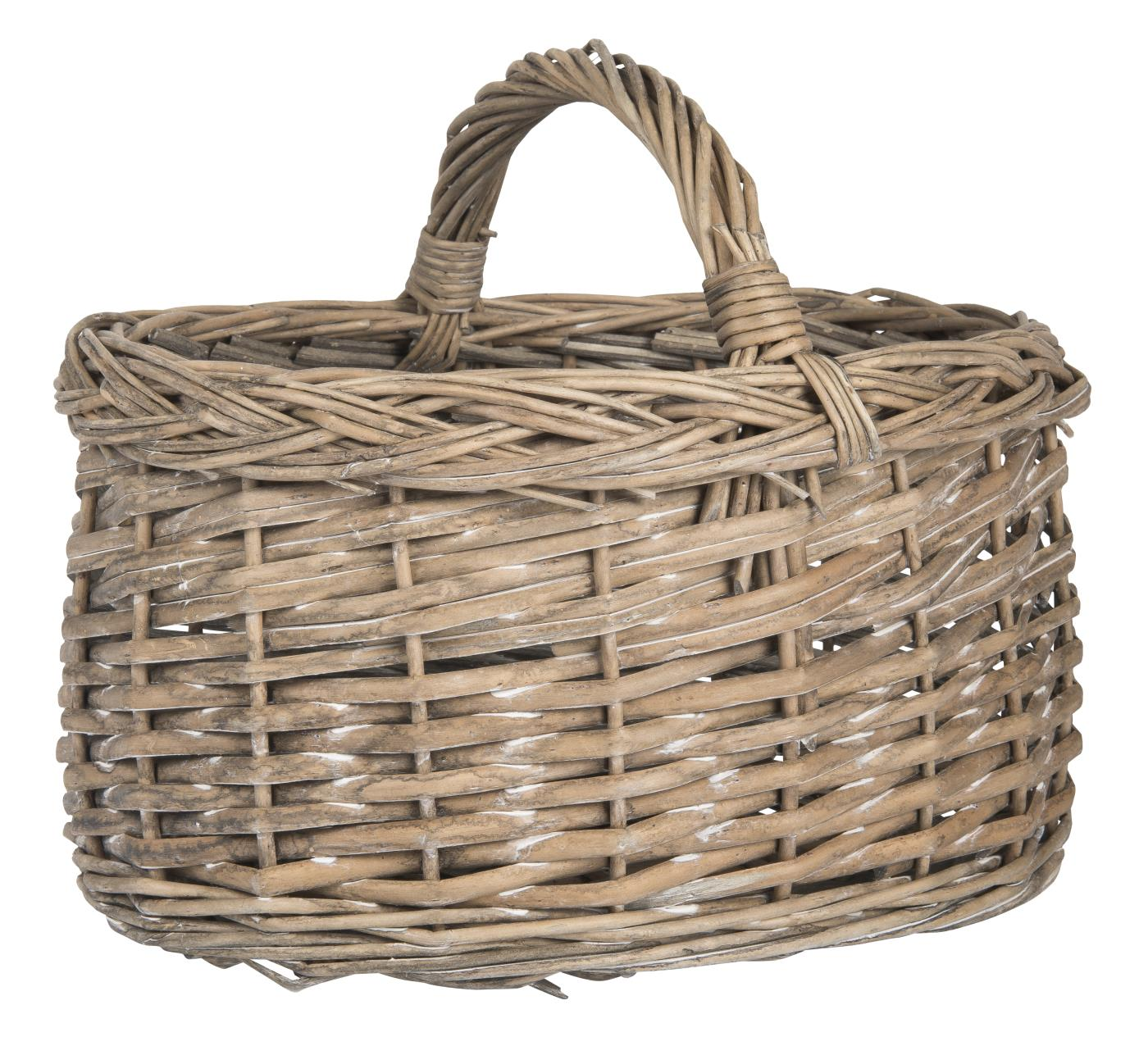 Mini Willow Basket with Handle