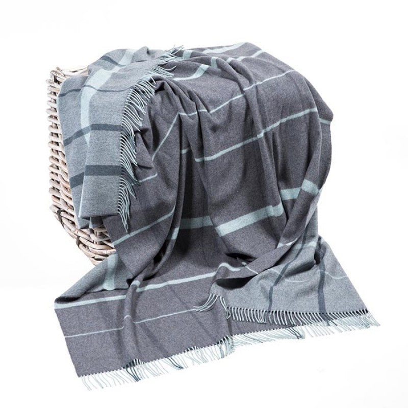 John Hanly  Merino Lambswool Throw