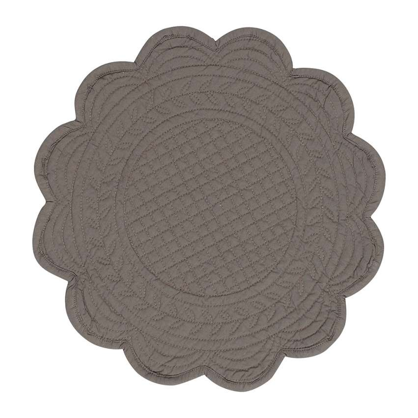 Round Quilted Placemat