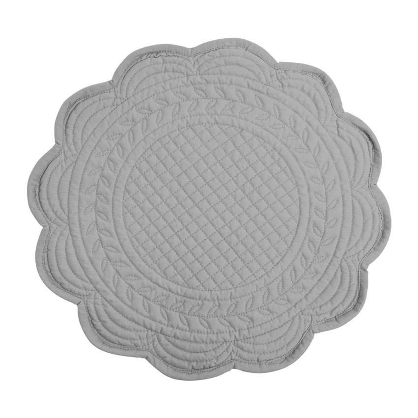 Round Quilted Placemat (Assorted Colours)