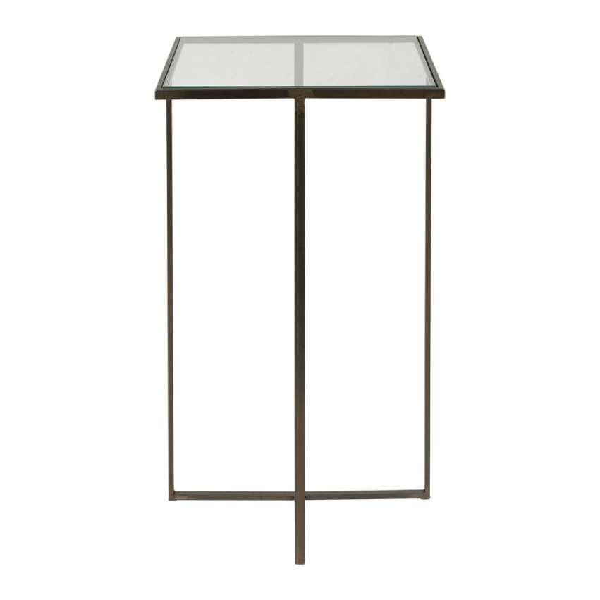 Grey Kyoto Glass Table