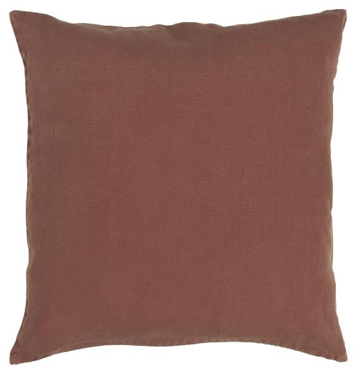Rust Linen Cushion