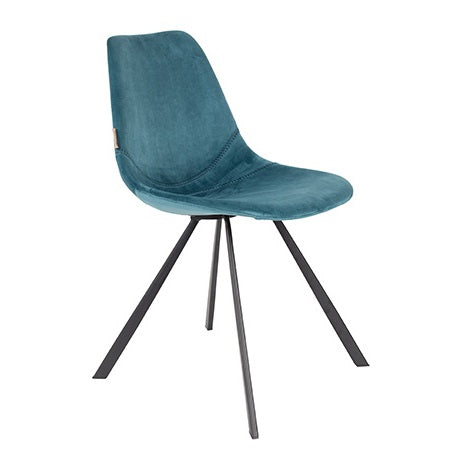 Franky Dining Chair in Velvet