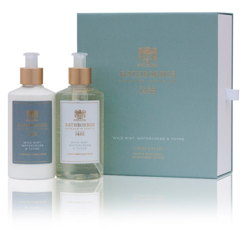 Rathbornes Bath & Body Gift Set-Luxury Wild Mint