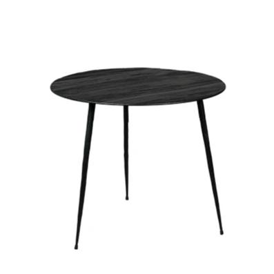 Black Steel Occasional Table