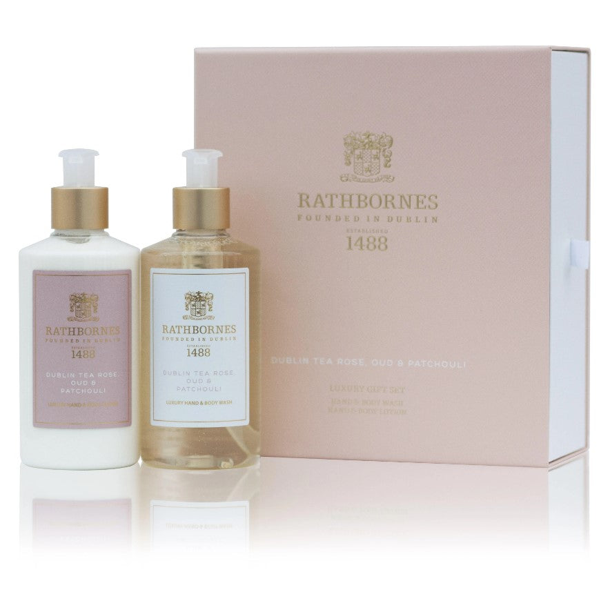 Rathbornes Bath & Body Gift Set-Dublin Tea Rose