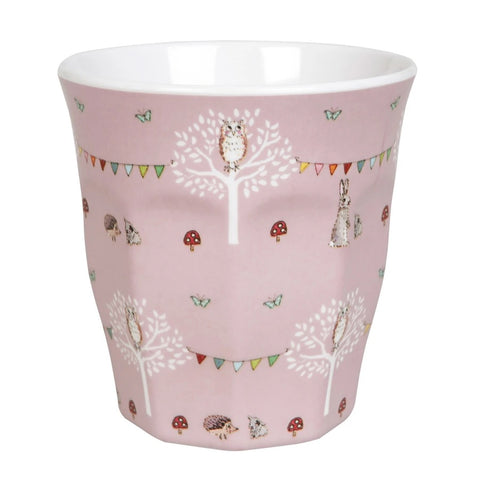 Woodland Party Melamine Cup