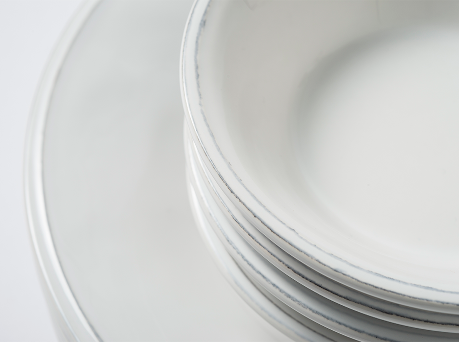 Constance White Cereal Bowl