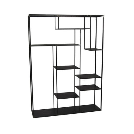 Wall Hung Metal Shelving Unit