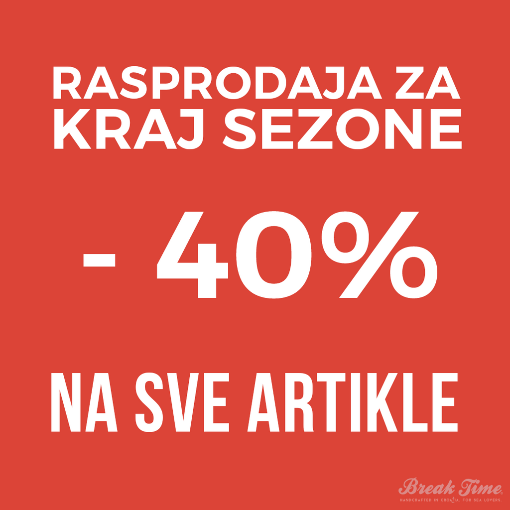 -40% End-of-Season Sale!!! | Break Time