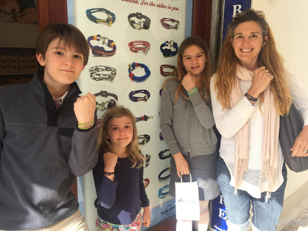 About smiles and happy Break Time nautical bracelets's fans | Break Time