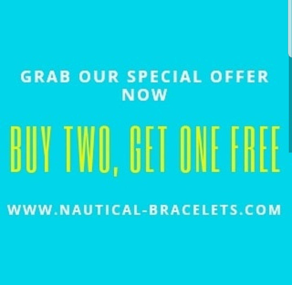 Buy any two Break Time nautical bracelets and get the third one for free! | Break Time
