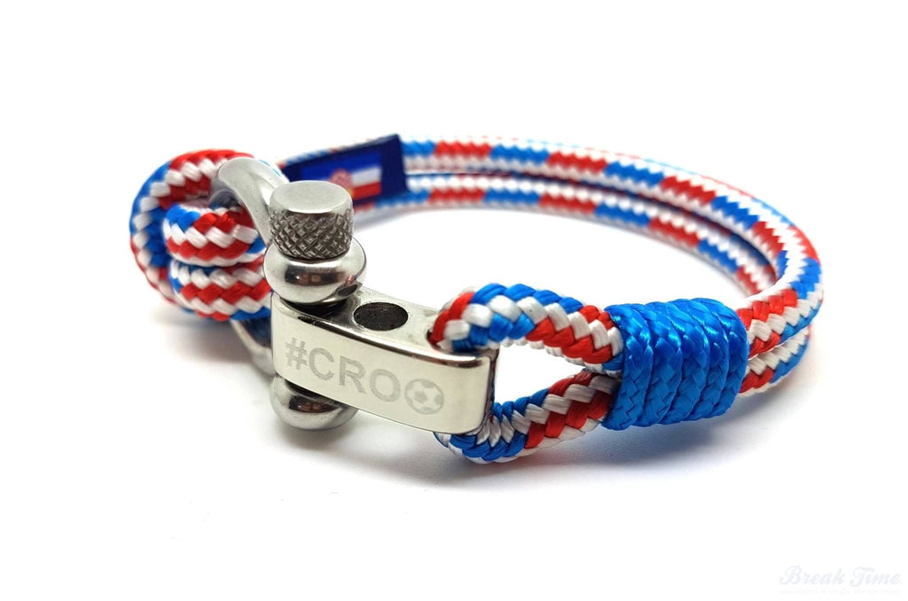 #CRO - Launching a special limited edition nautical bracelet dedicated to the fans of the Croatian national football team - for the World Cup 2018 | Break Time