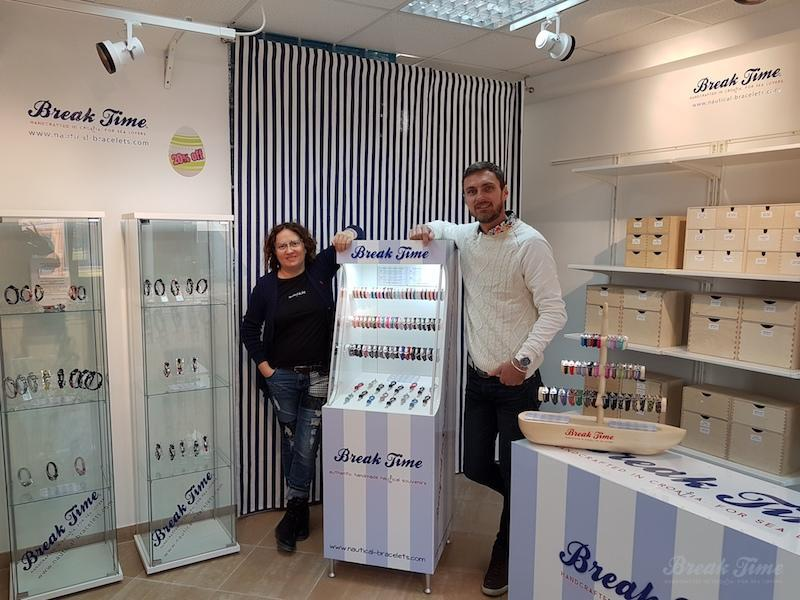 Croatian nautical jewellery brand Break Time opens first shop in Istria / Hrvatski nautički brend nakita Break Time otvara prvi dućan u Istri | Break Time