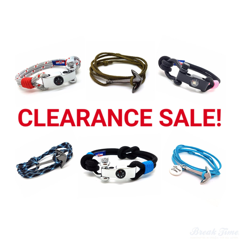 Hello, Nautical Bracelets Clearance Sale!!! | Break Time