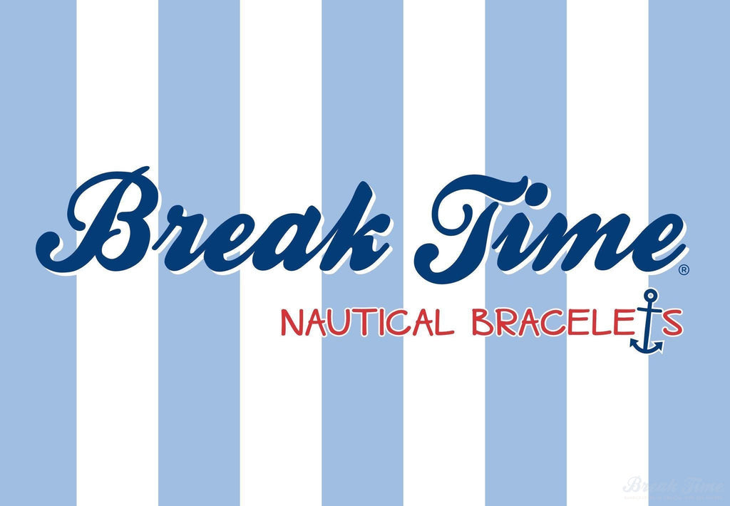 Nautical bracelets, anyone? Yes, please! | Break Time
