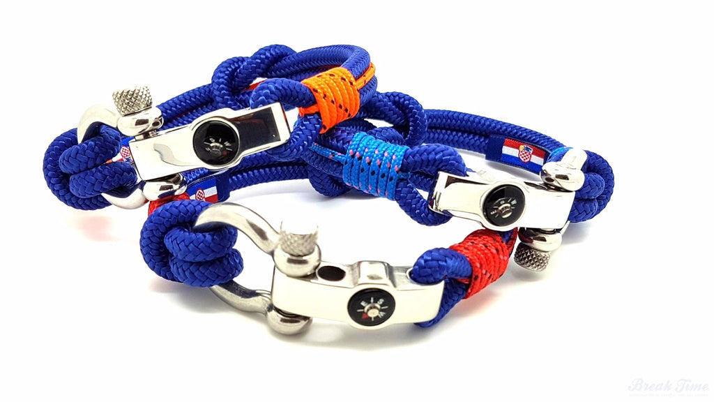 The new DUBROVNIK Collection of nautical bracelets with decorative compass | Break Time