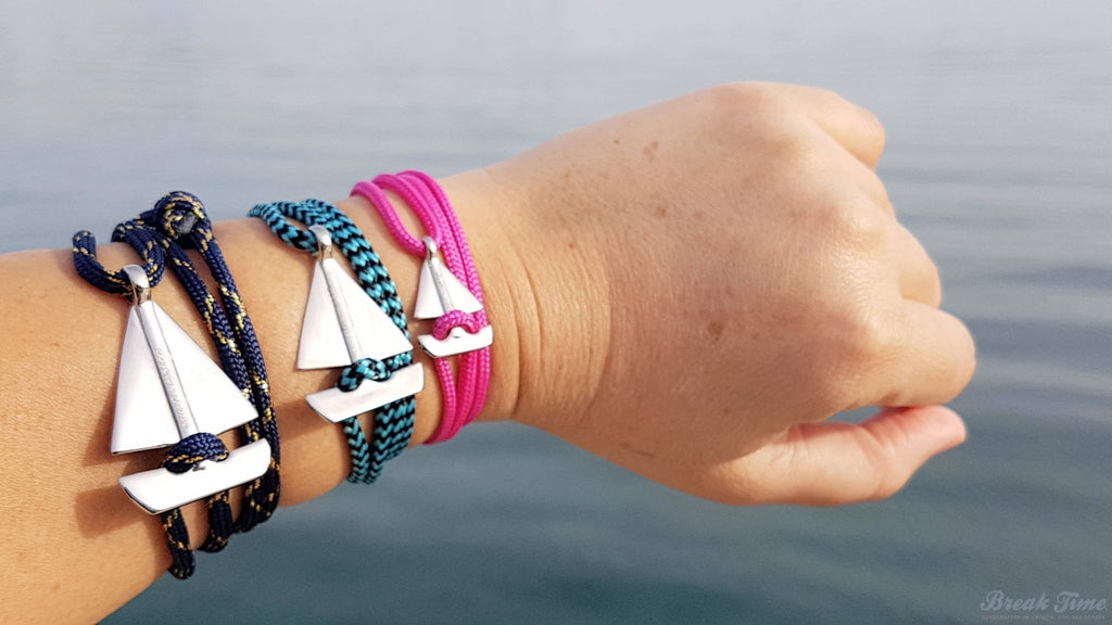 The SAILOR Collection of Boat-shaped Wrap Bracelets - Launching on March 1st! Exclusive Break Time Design! | Break Time