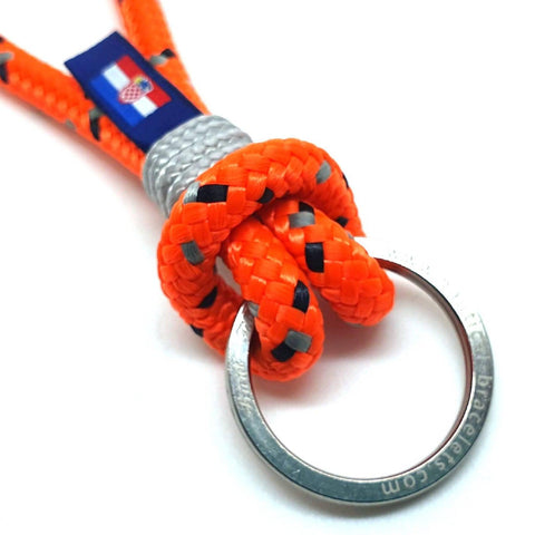 Break Time handmade nautical rope keyring keychain