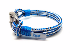 Corporate events original goodie bag gifts - handmade lanyard and yachting sailing nautical rope bracelet with logo, Croatia