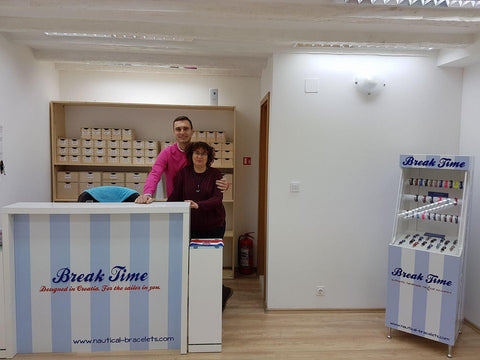 Break Time Croatia team - in Antuninska 5, Dubrovnik souvenirs gift shop