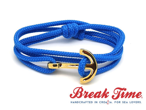 Yacht Club by Break Time Croatian anchor bracelets. Custom engraved jewelry. Original designer jewellery. Attila Kim and Bogdan Ciocodeica