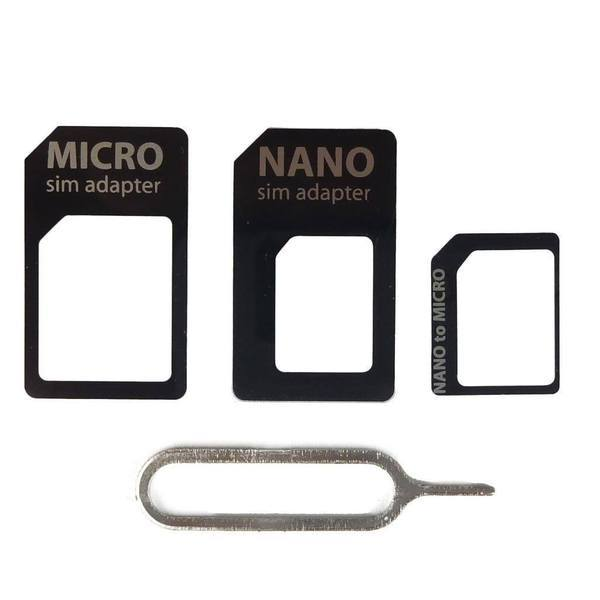 Tuzech Sim Card Adapter For Phone with free Pin - The Immart  - 3