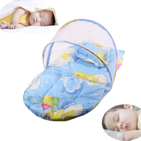 Baby Bed Net - Pindia Kids Cotton Padded Mosquito Protector Bed Net.