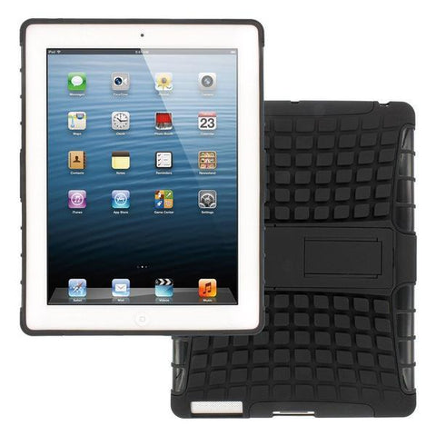 Back Cover - Tuzech Defender  Shock Proof Case For Apple IPad 2,3,4