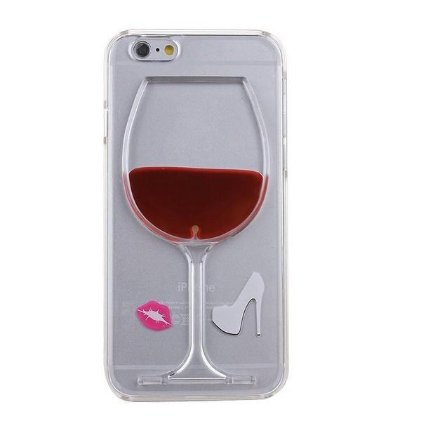 Back Cover - Tuzech Iphone 6 Liquid Hard (wine Case) Red