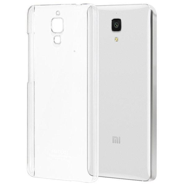 Tuzech Mi 4 Hard Transparent Back cover - The Immart