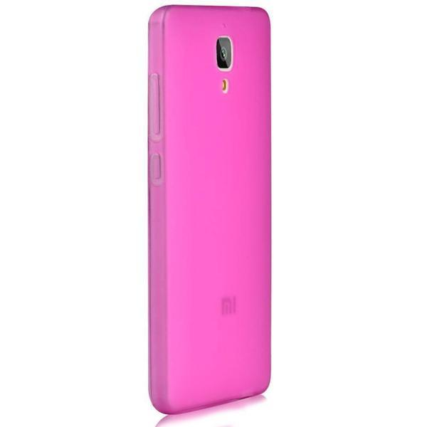 Tuzech Mi4 TPU Case Pink - The Immart