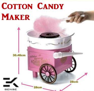 Candy Floss - TUZECH Vintage Style Hard & Sugar-Free Candy Cotton Candy Maker,Cotton Candy Floss Maker