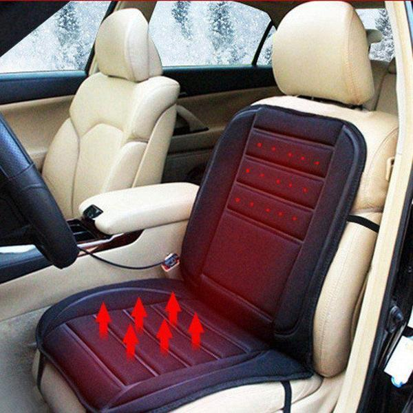 Universal Electronic Car and Home Heated Seat Cover For Back Ache,Waist Ache Or Cold - The Immart  - 1