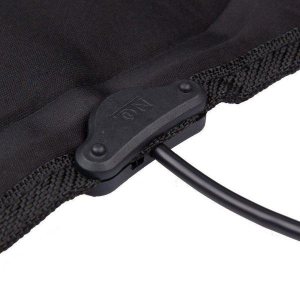Universal Electronic Car and Home Heated Seat Cover For Back Ache,Waist Ache Or Cold - The Immart  - 3