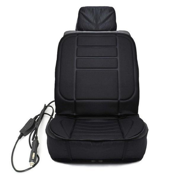 Universal Electronic Car and Home Heated Seat Cover For Back Ache,Waist Ache Or Cold - The Immart  - 7