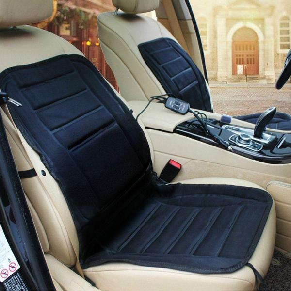 Universal Electronic Car and Home Heated Seat Cover For Back Ache,Waist Ache Or Cold - The Immart  - 8