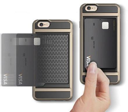 Tuzech Versus Case For Apple iPhone 5, 6, 6s, 6sPlus ( With Credit Card Holder) - The Immart