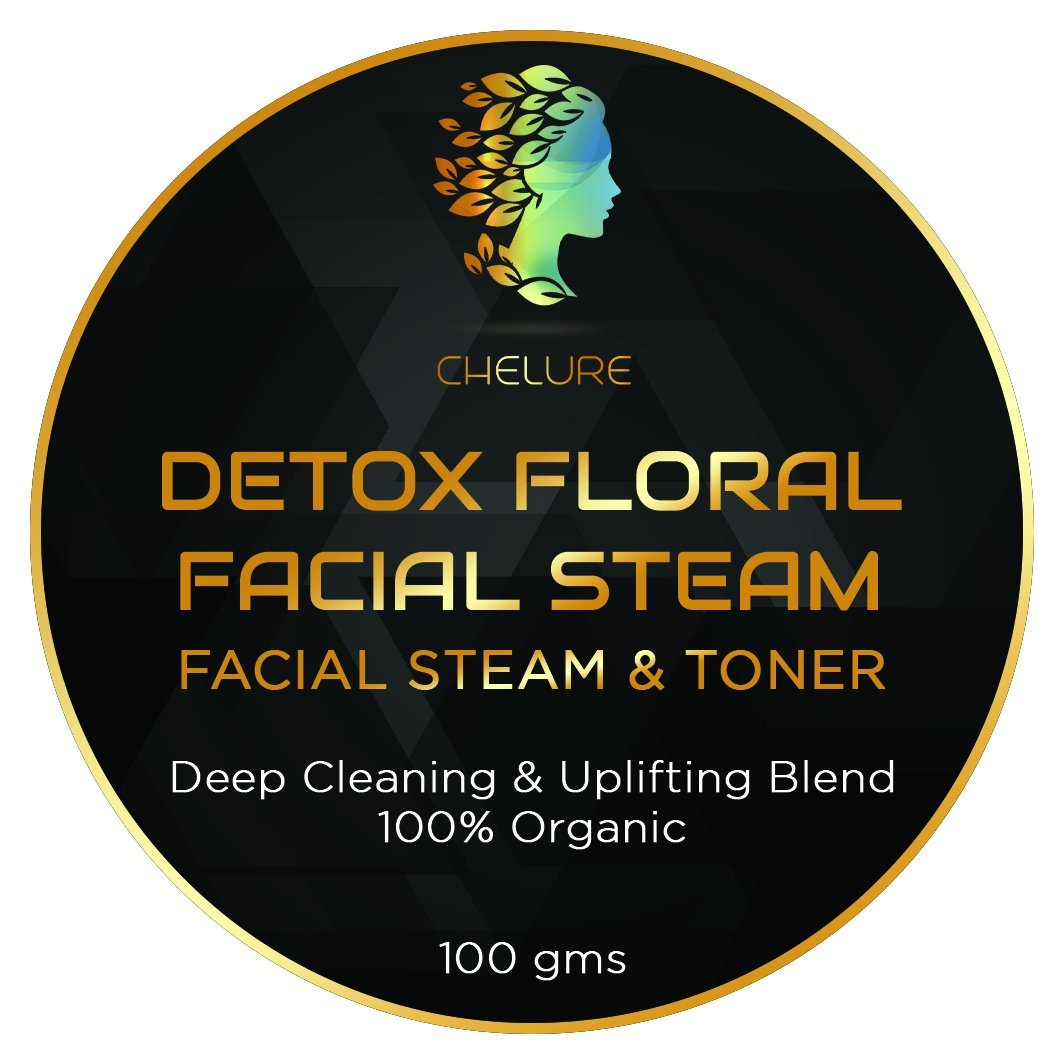 Chelure Detox Floral Facial Steam Facial Steam & Toner	Deep Cleaning & Uplifting Blend 100% Organic