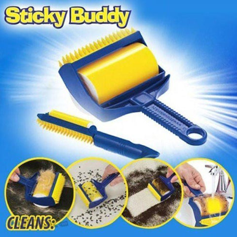 Cleaning - Reusable Sticky Buddy (Removes Unwanted Pet Hair / Dirt From Furniture/Cloth)