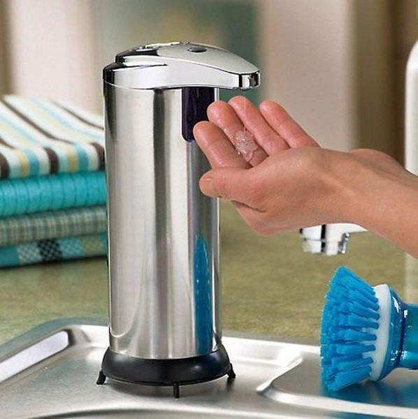 Dispenser - Tuzech Automatic Infrared Sense Soap Dispenser ( NO NEED TO TOUCH)