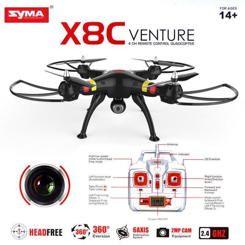 Genuine Syma X8C With 360 /Gyro /Camera ( Hot Selling)(Exclusive) - The Immart