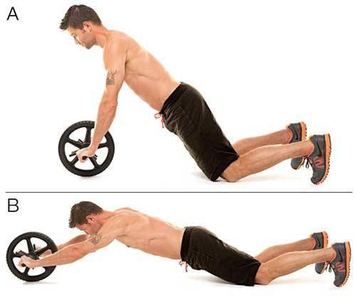 Exercise - Tuzech AB Wheel For Men / Women